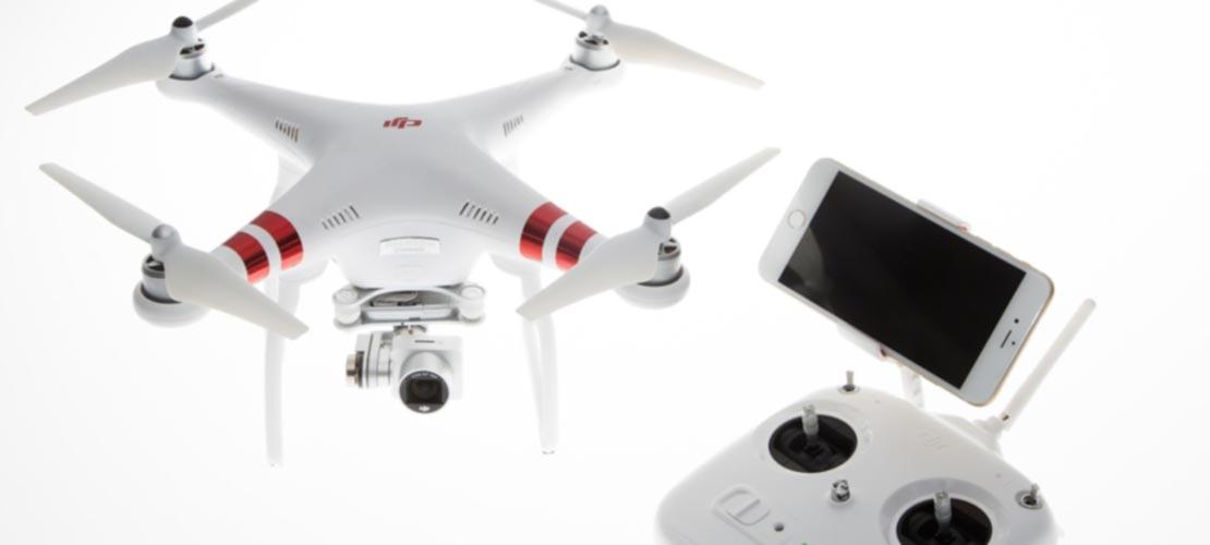 Drones della macchina fotografica