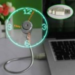 USB Ventilatore - Orologio
