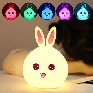coniglio lampada cambia colore sensore tattile