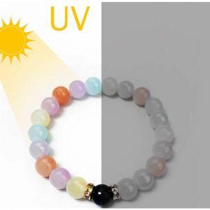 braccialetto arcobaleno uv