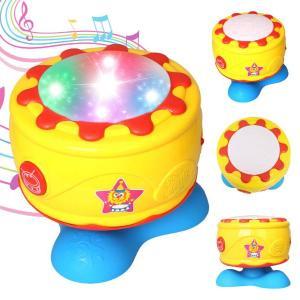tamburo musicale rotante con luce