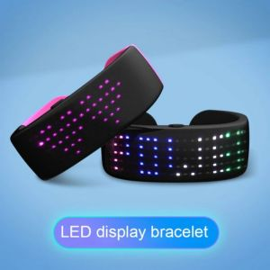 Braccialetto Led futurista con dispaly