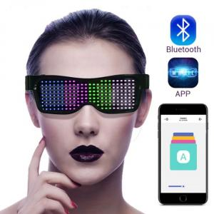 Occhiali Led Bluetooth connessi con smartphone