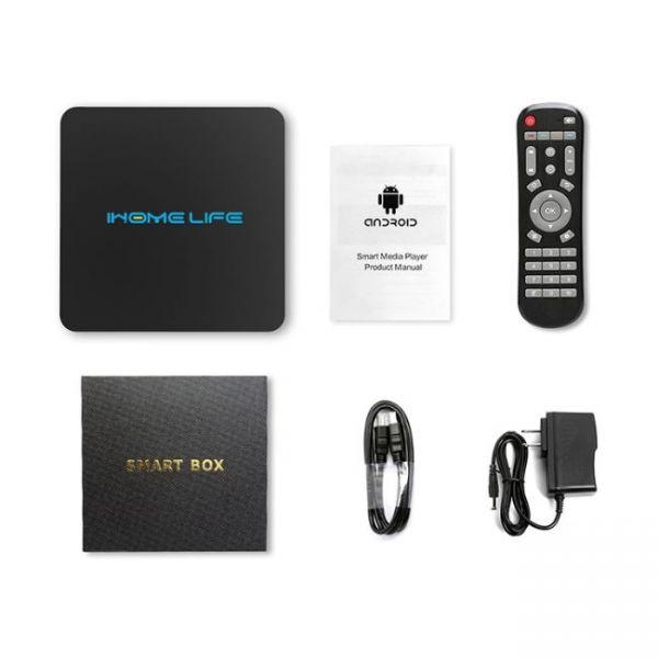 HQL MAX+ IHOMELIFE Android TV Box - quale pacchetto contiene