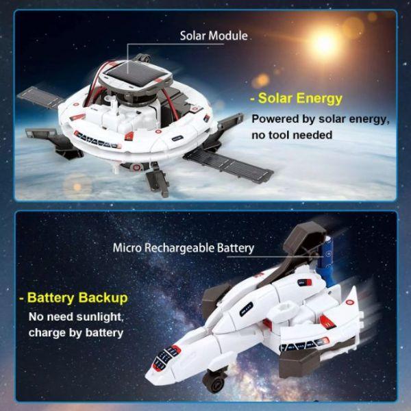 Kit Robot Solare Educativo 6 in 1 di STEM con molte trasformazioni