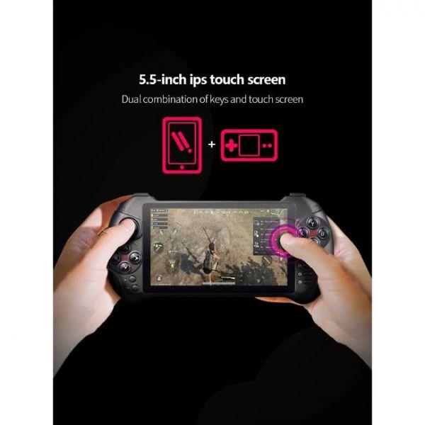 Console di gioco portatile Android da 5,5 pollici con grande schermo
