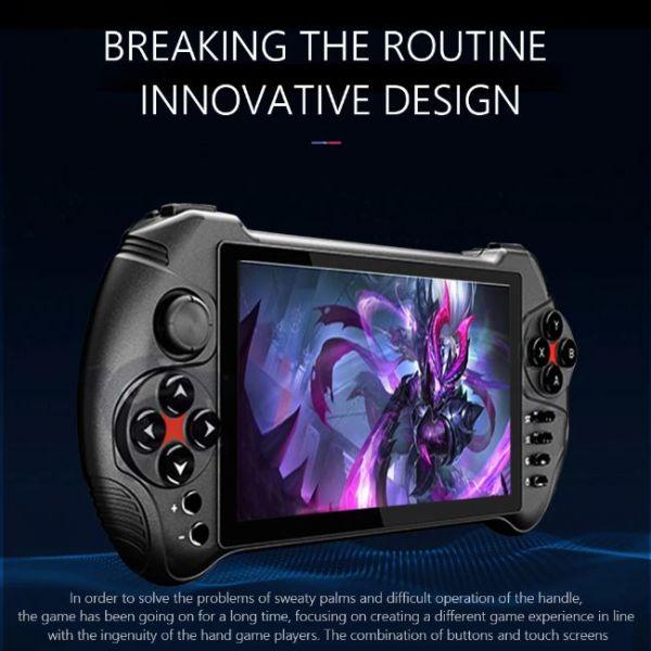 Console di gioco portatile Android da 5,5 pollici con un design innovativo