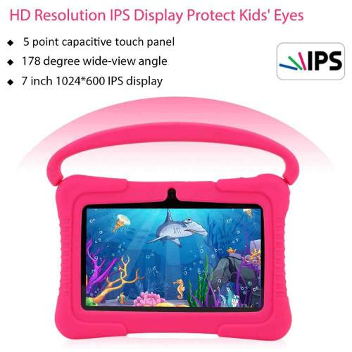 Tablet per bambini che i genitori possono controllare con risoluzione estremamente elevata