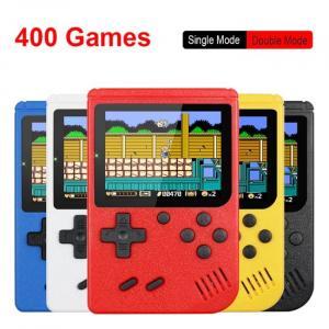 Console di gioco portatile retrò a 8 bit con 400 giochi integrati
