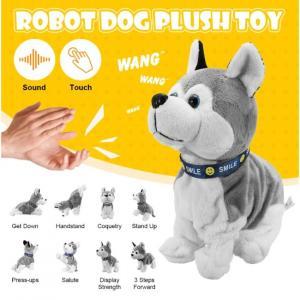 Giocattolo intelligente per cani che interagisce con il suono
