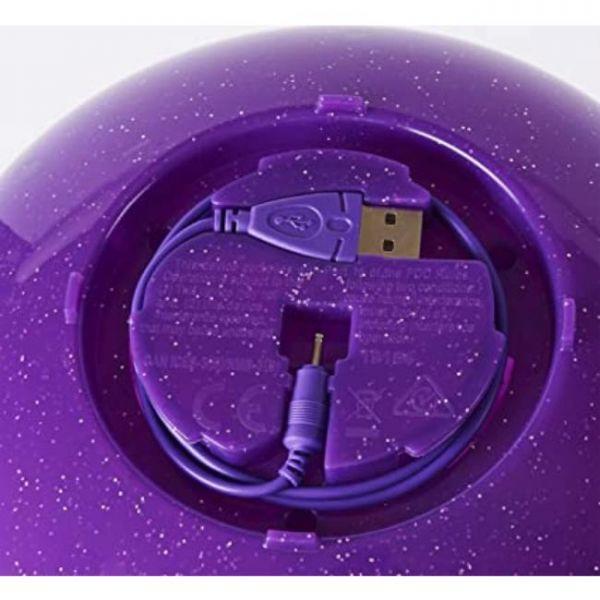 fata volante con induzione a mano e base addebitato tramite cavo USB