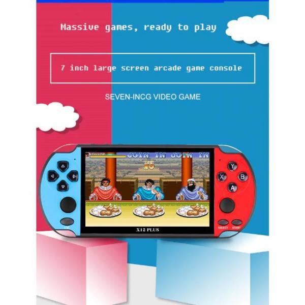potente console di gioco portatile che supporta i giochi PS1 e SNES con grande schermo