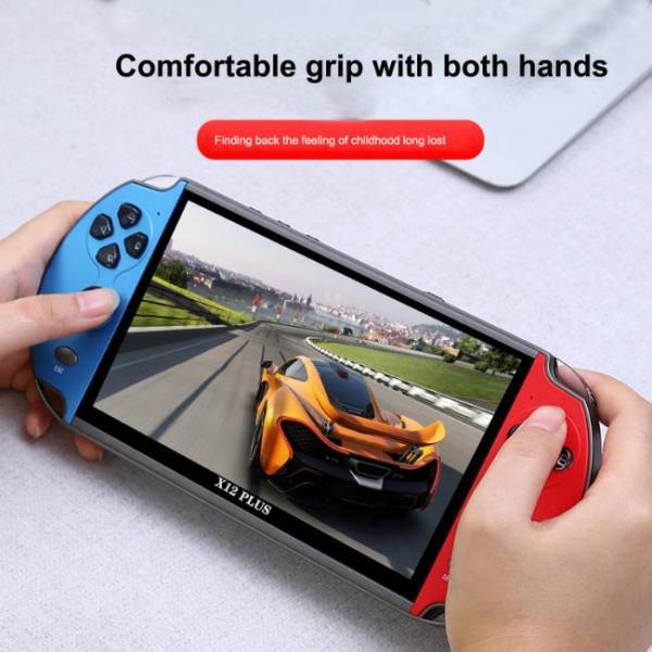 potente console di gioco portatile che supporta i giochi PS1 e SNES con comoda impugnatura