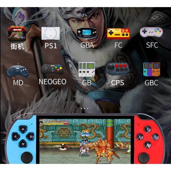 potente console di gioco portatile che supporta i giochi PS1 e SNES e altri formati di gioco