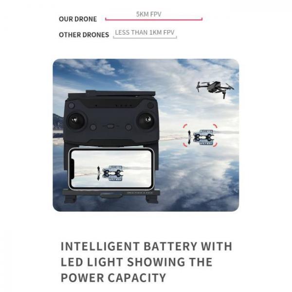 drone durevole e stabile con fotocamera Sony HD e FPV 5km