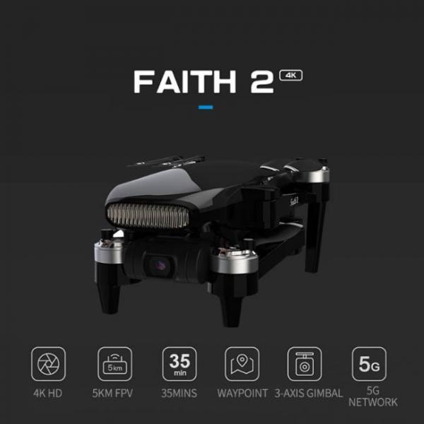 drone durevole e stabile con fotocamera Sony HD e molteplici caratteristiche