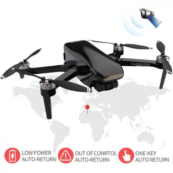 drone durevole e stabile con fotocamera Sony HD e ritorno automatico a bassa potenza