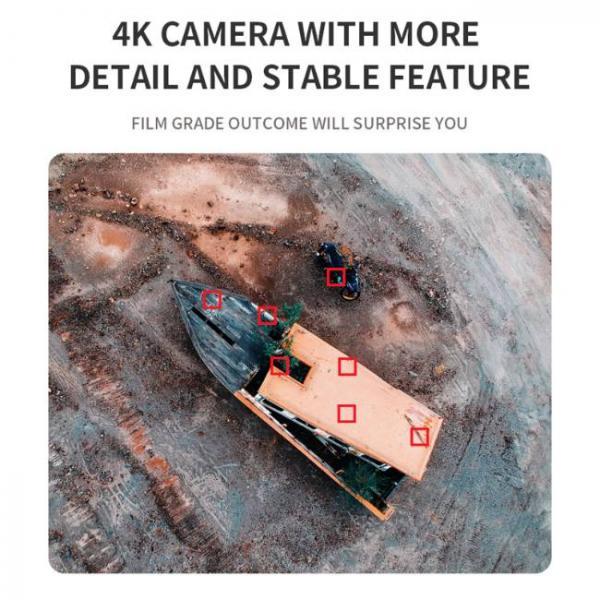 drone durevole e stabile con fotocamera Sony HD con più dettagli