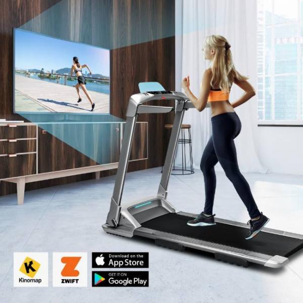 macchina elettrica per camminare e correre con bluetooth intelligente