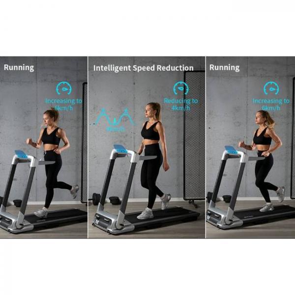macchina elettrica per camminare e correre con bluetooth intelligente con più allenamenti