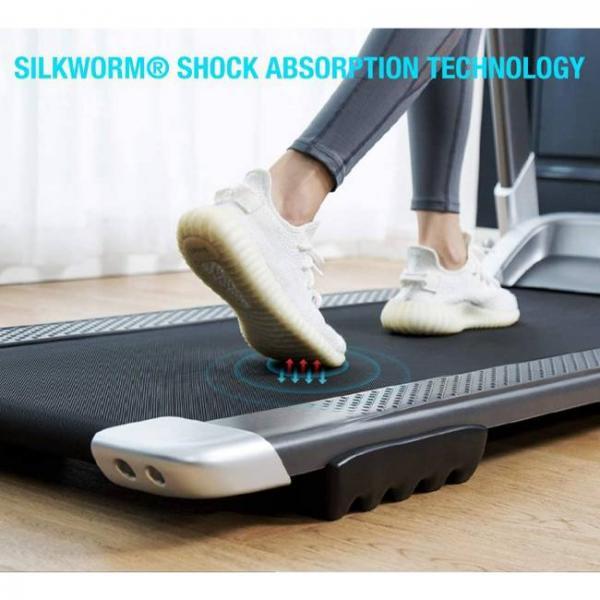 macchina elettrica per camminare e correre con bluetooth intelligente con tecnologia di assorbimento degli urti