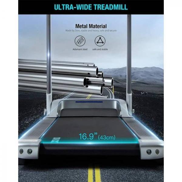 ultra ampio macchina elettrica per camminare e correre con bluetooth intelligente