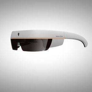 occhiali ar ad alta velocità collegati con 4G e bluetooth