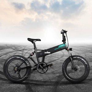 Bicicletta elettrica Fiido M1 Pro con pneumatici grandi e chilometraggio elevato