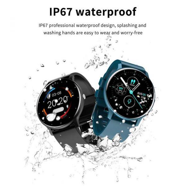 Smart Watch Sport Fitness Touch Screen impermeabile completamente impermeabile