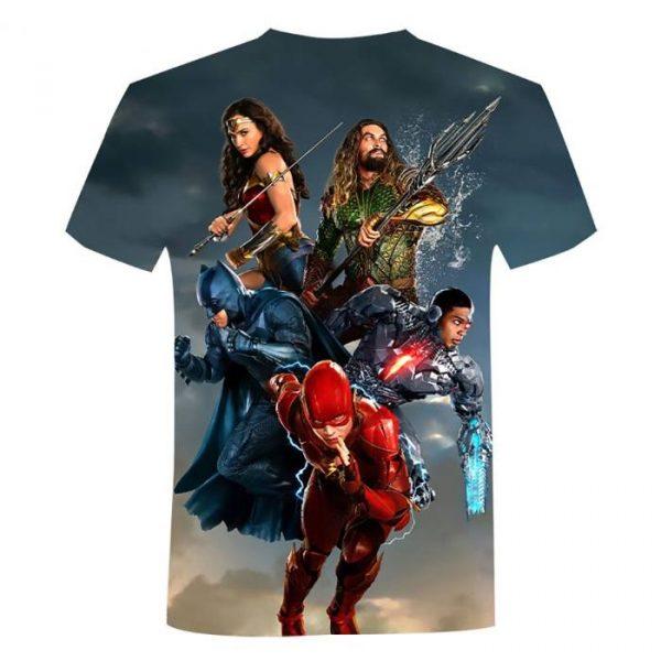 Maglietta stampata DC Legends 3D Casual Streetwear 2021