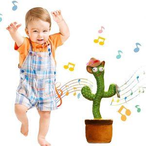 cactus parlante e danzante che farà ballare i tuoi bambini