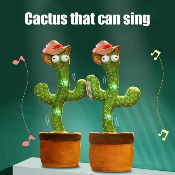 cactus parlante e danzante che sa cantare