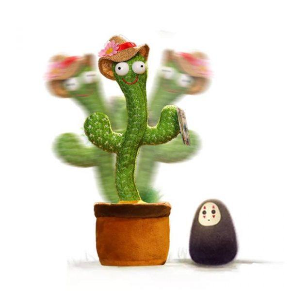 cactus parlante e danzante con telecomando