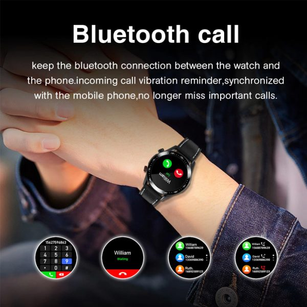 smartwatch sportivo completamente impermeabile con chiamate bluetooth