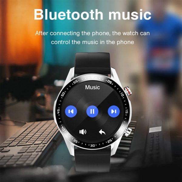smartwatch sportivo completamente impermeabile con musica bluetooth