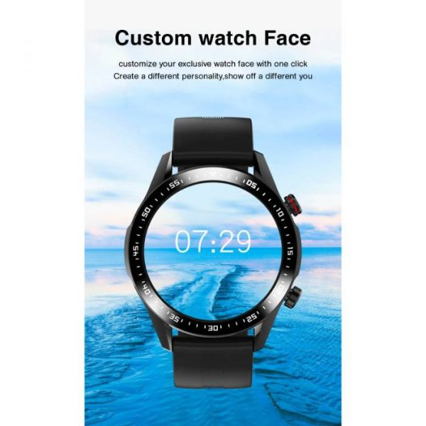 smartwatch sportivo completamente impermeabile con quadrante personalizzato