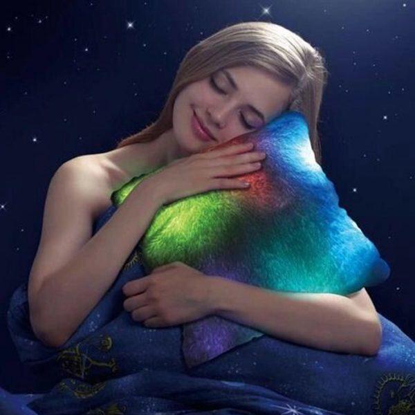 Cuscino Molon Luce led   Super morbido al tatto   Luce notturna   Perfetto per la decorazione