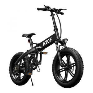 bici elettrica con pneumatici grandi e chilometraggio elevato