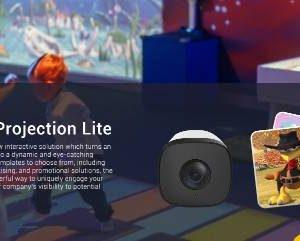 innovativo sistema interattivo con fotocamera e sensore